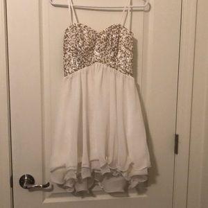Windsor formal sequined dress sz 7/8